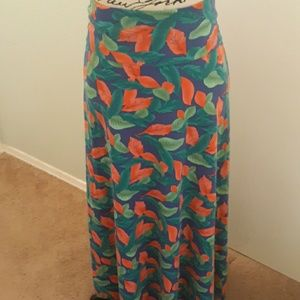 LuLaRoe Skirts - LulaRoe Maxi skirt  w/ yoga waist XXL